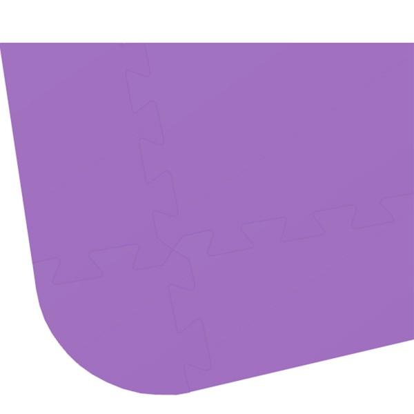 Rand für Bodenmatte UNO 24 lila