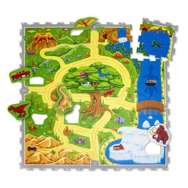 Hakuna Matte Puzzle Play Mat - Dinosaur Safari (1.2x-1.2m)