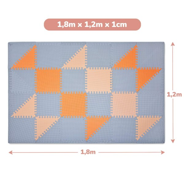Hakuna Matte Puzzle Play Mat - Hygge (1.8x-1.2m)