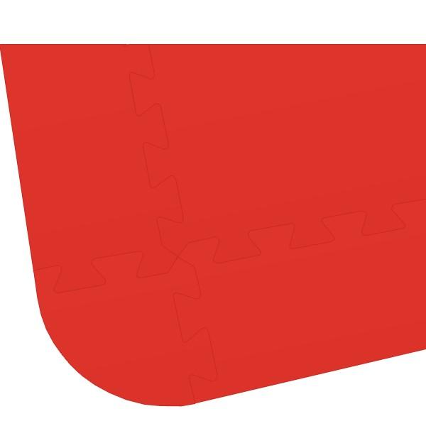 Rand für Bodenmatte XL - 8mm - rot